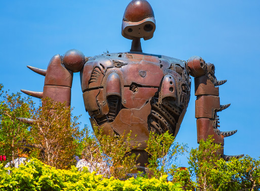The Ghibli Museum - The Art of Japanese Animation