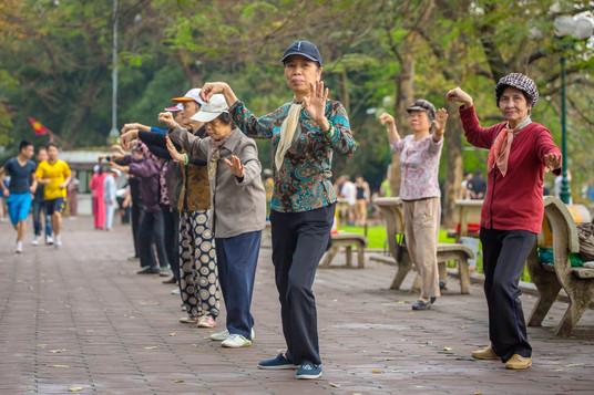 Morning Excercises, Hanoi