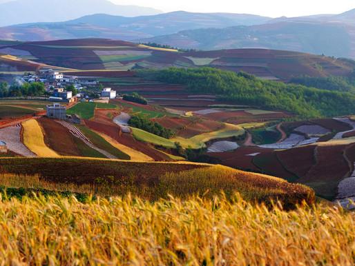 """God's Palette"" - Dongchuan Redlands Excursion"