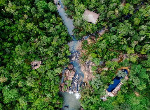 Zip your way to check-in at Cambodia's Shintamani Wild