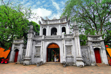 Temple of Literature Entrance, Hanoi