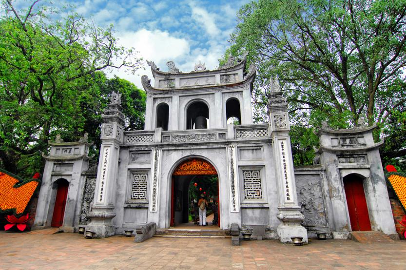 Temple of Literature Entrance, Hanoi