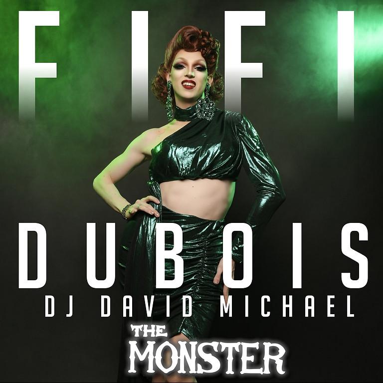 Fifi Dubois with DJ David Michael