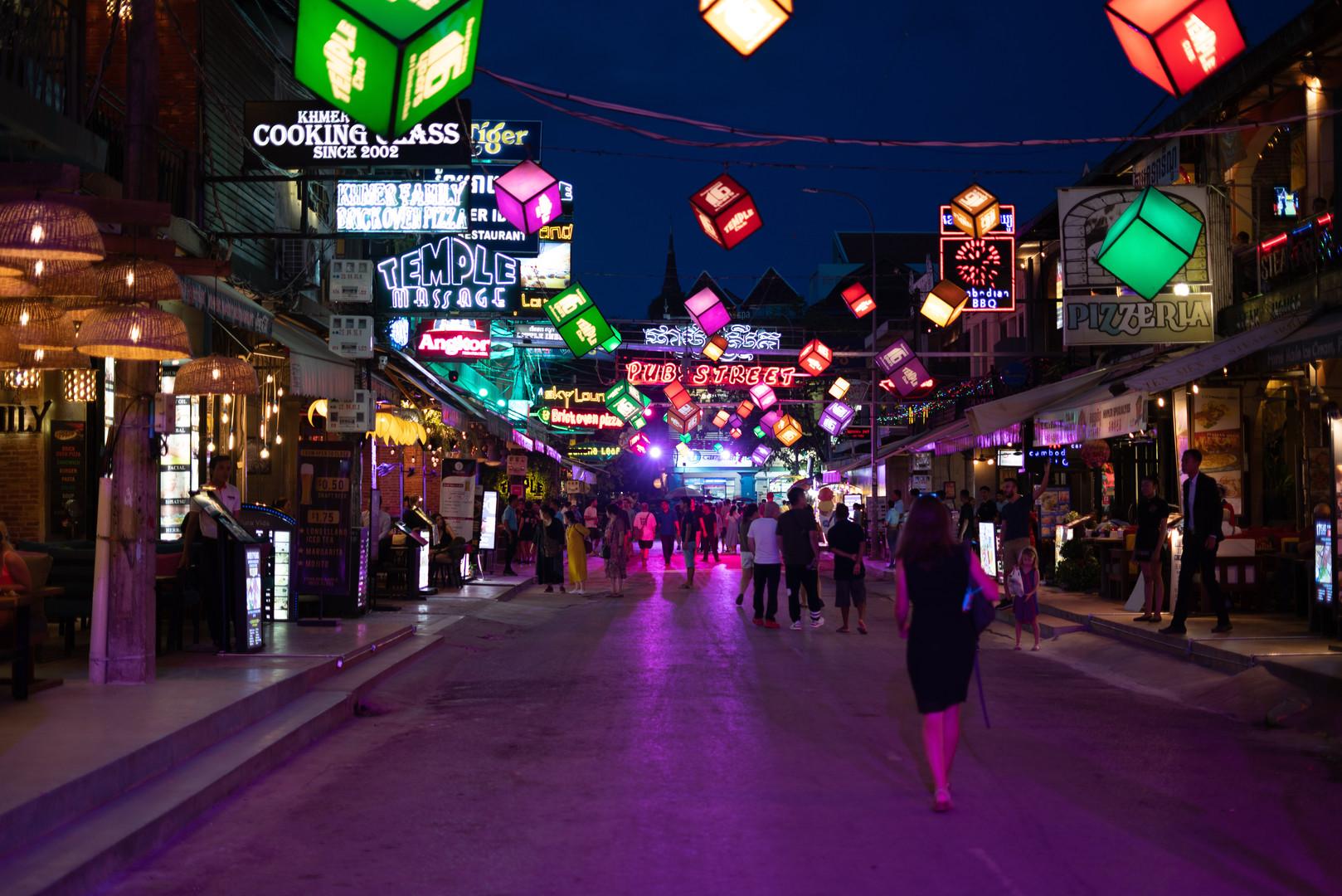 Pub Street Nightlife, Siem Reap