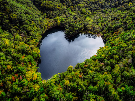 Lake Toyoni, Japan's Heart-Shaped Treasure