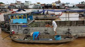 Floating Market, Can Tho