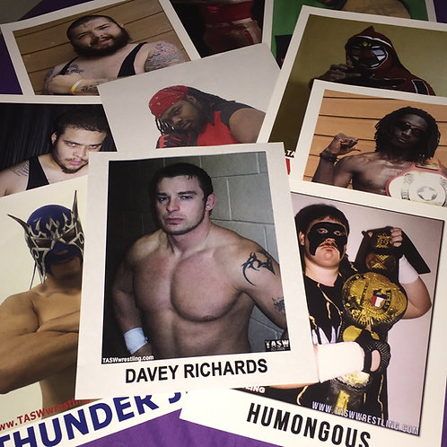 This is a set of 10 different 8-1/2 x 11 promo photos left over from TASW