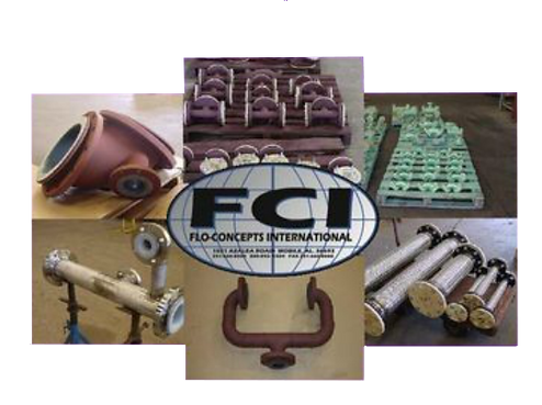 Flo Concepts International Lined Pipe and Fittings