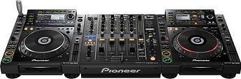 noleggio affitto console pioneer 2000 nxs nexus 900 cdj djm