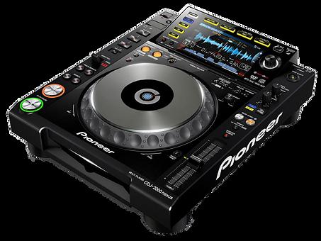 pioneer  dj cd 2000 nxs noleggio brescia