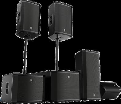 elx casse audio noleggio brescia lombard