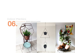 6 Indoor planters, allthingswhiting