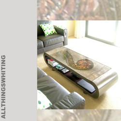 Koru coffee table, allthingswhiting