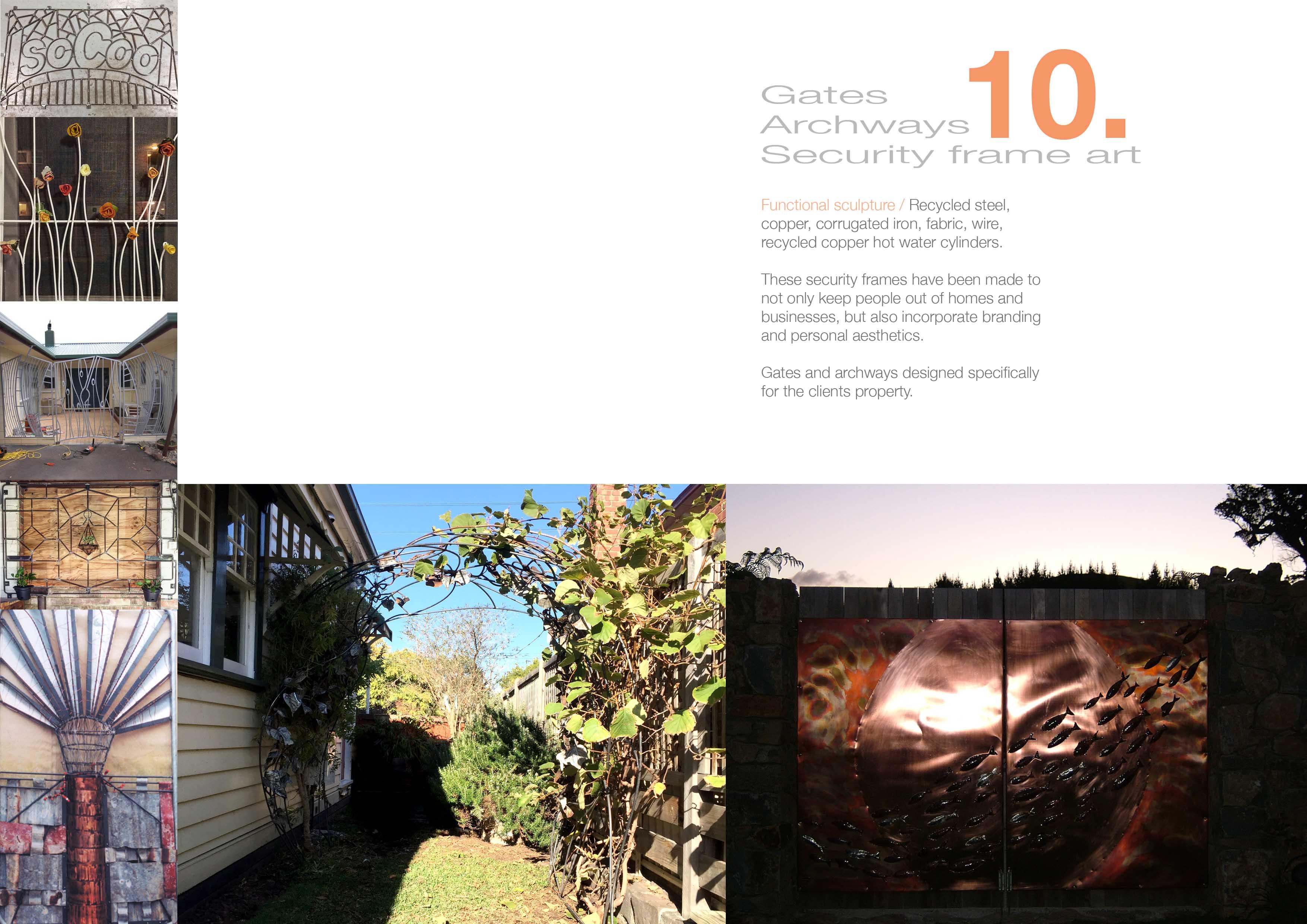 10 Gates, garden, allthingswhiting