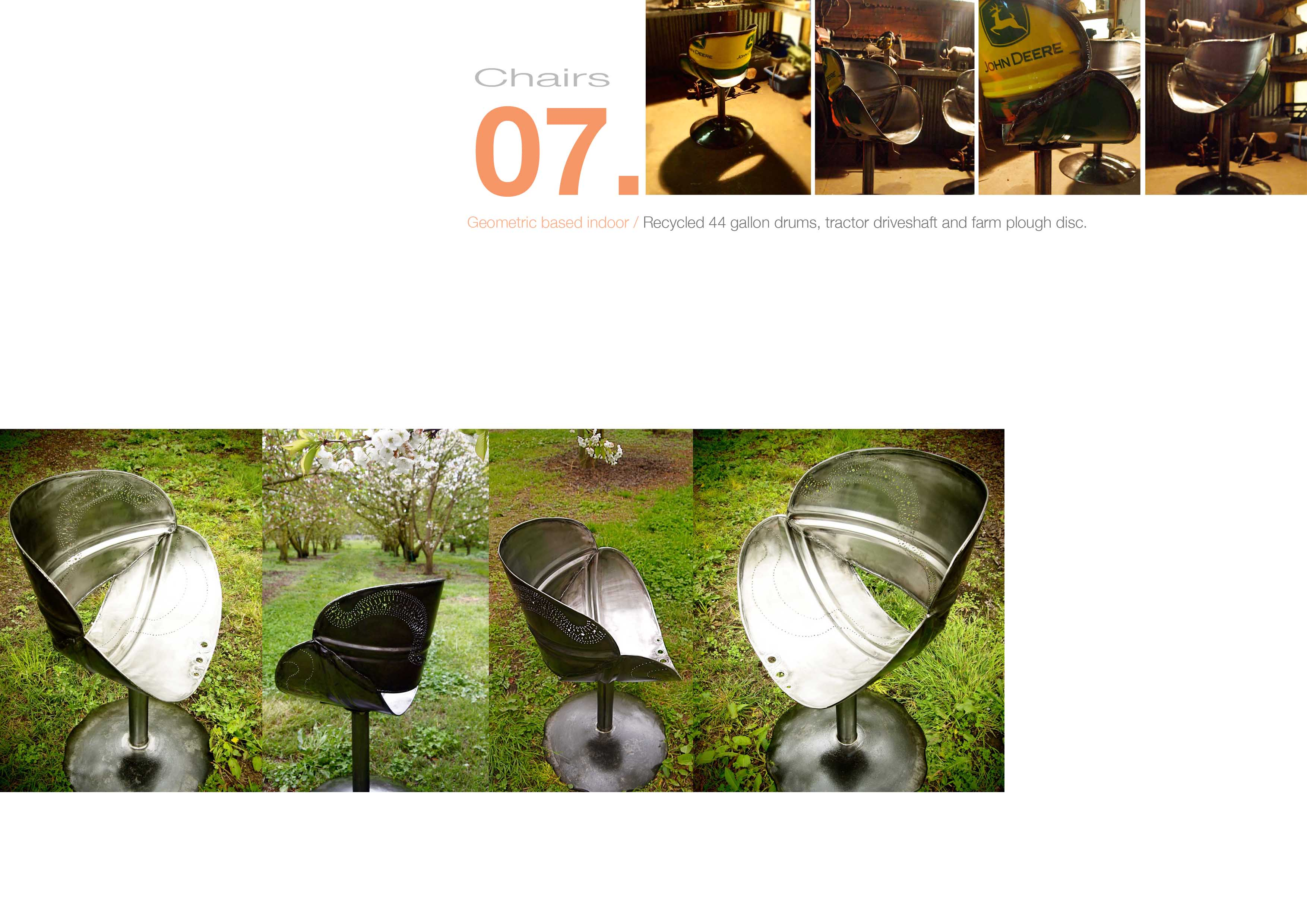 7 Chairs, allthingswhiting