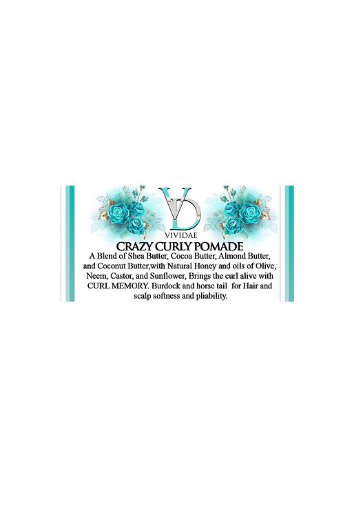 Crazy Curly Pomade