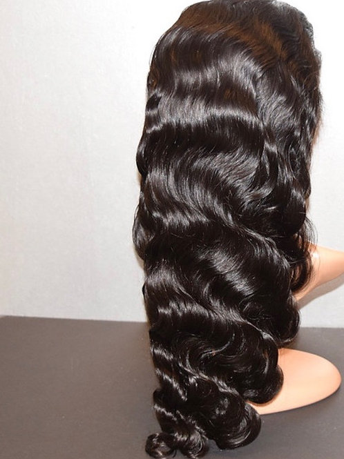 """NAKED"" Full Lace Body Wave Wig Unit 150% Density"