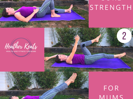 3 Top Tips to build Core Strength (whilst watching TV).