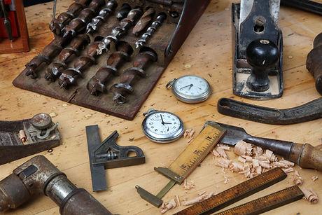 Uhrmacher-Werkbank