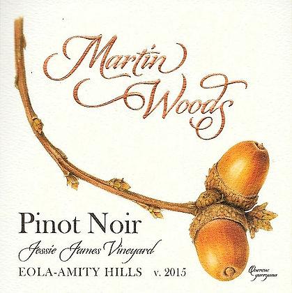 2015 Pinot noir ~ Jessie James Vineyard