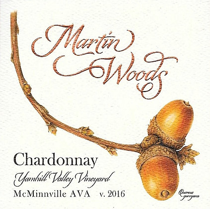 2016 Chardonnay ~ Yamhill Valley Vineyard