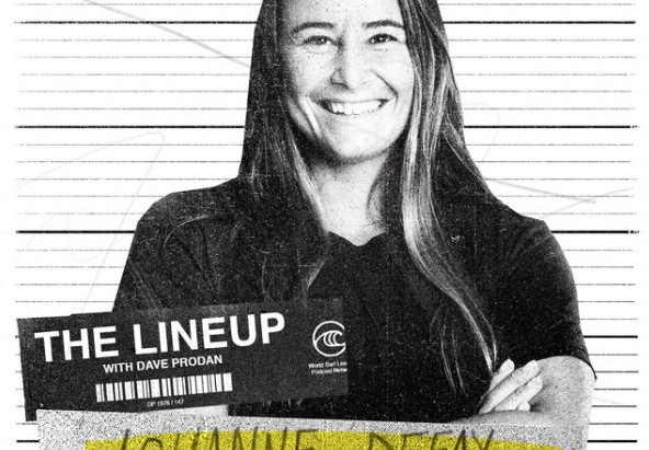 JOHANNE DEFAY AT THE LINEUP POD