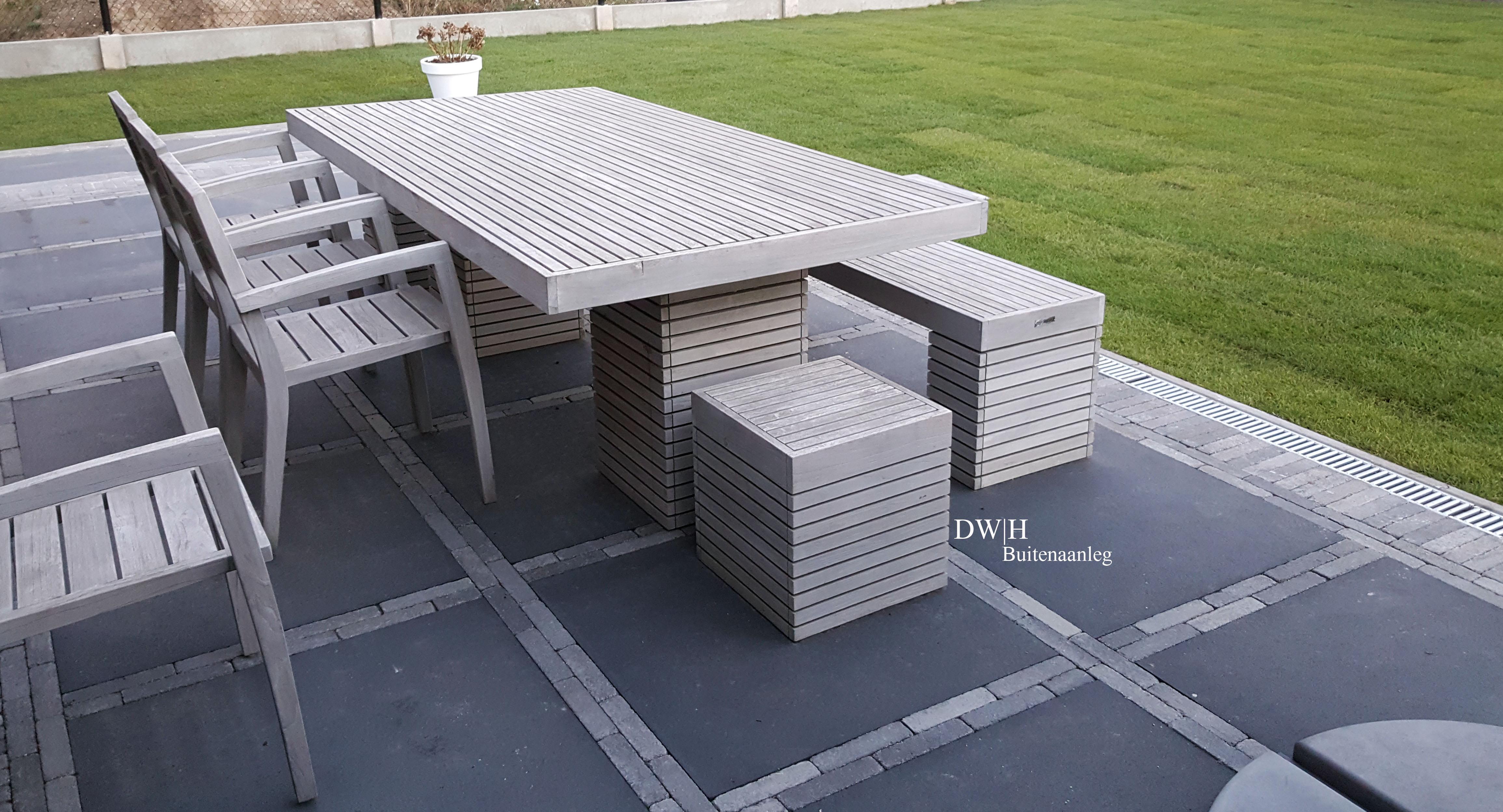 Project Hever | Terrastegels beton
