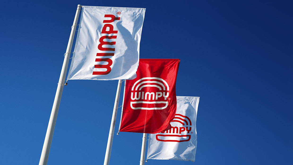Wimpy Restaurant banners