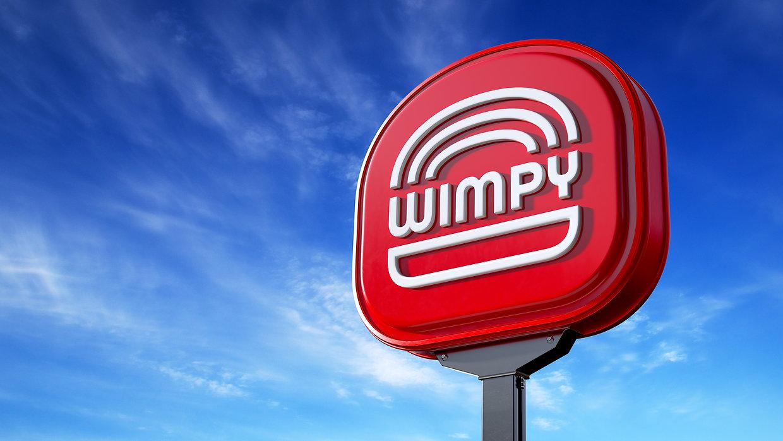 Wimpy Restaurant Exterior Sign_Pylone Signage