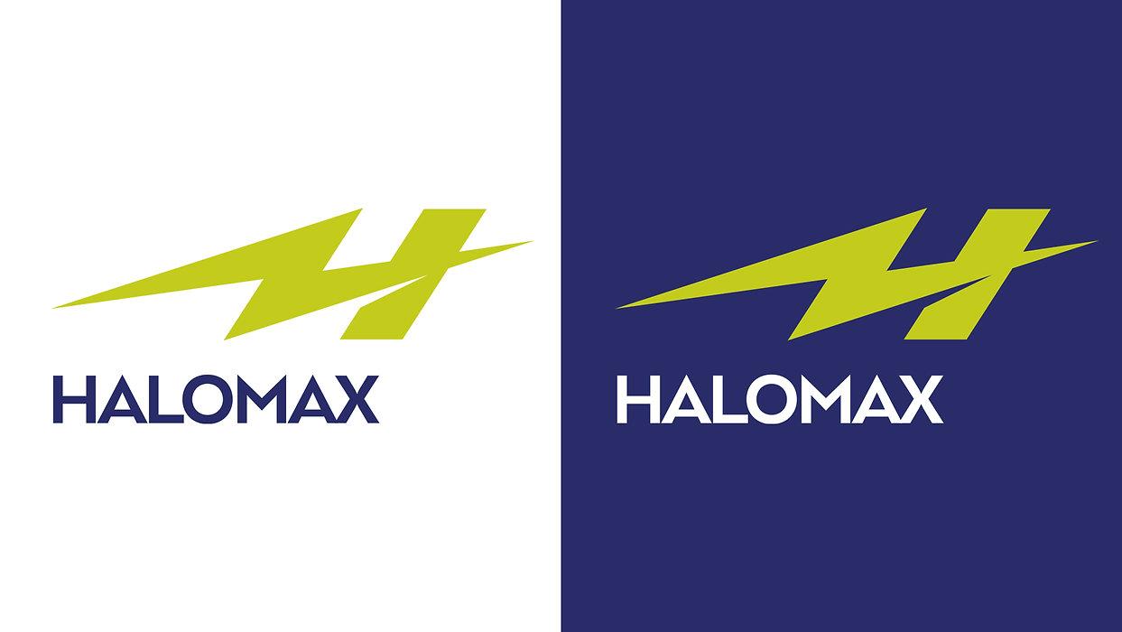 Halomax Colours Roberge Branding Design.