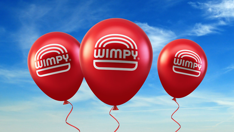 Wimpy Restaurant Birthday Balloons