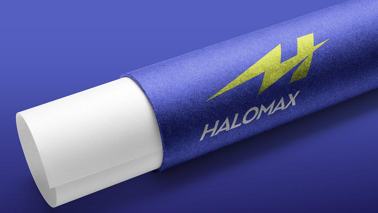 Halomax Tubes Roberge Branding Design.jp