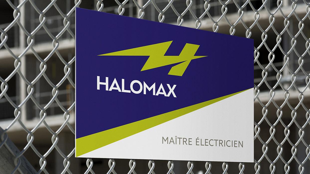 ∆_Halomax_Fence_Sign_Roberge_Branding_De