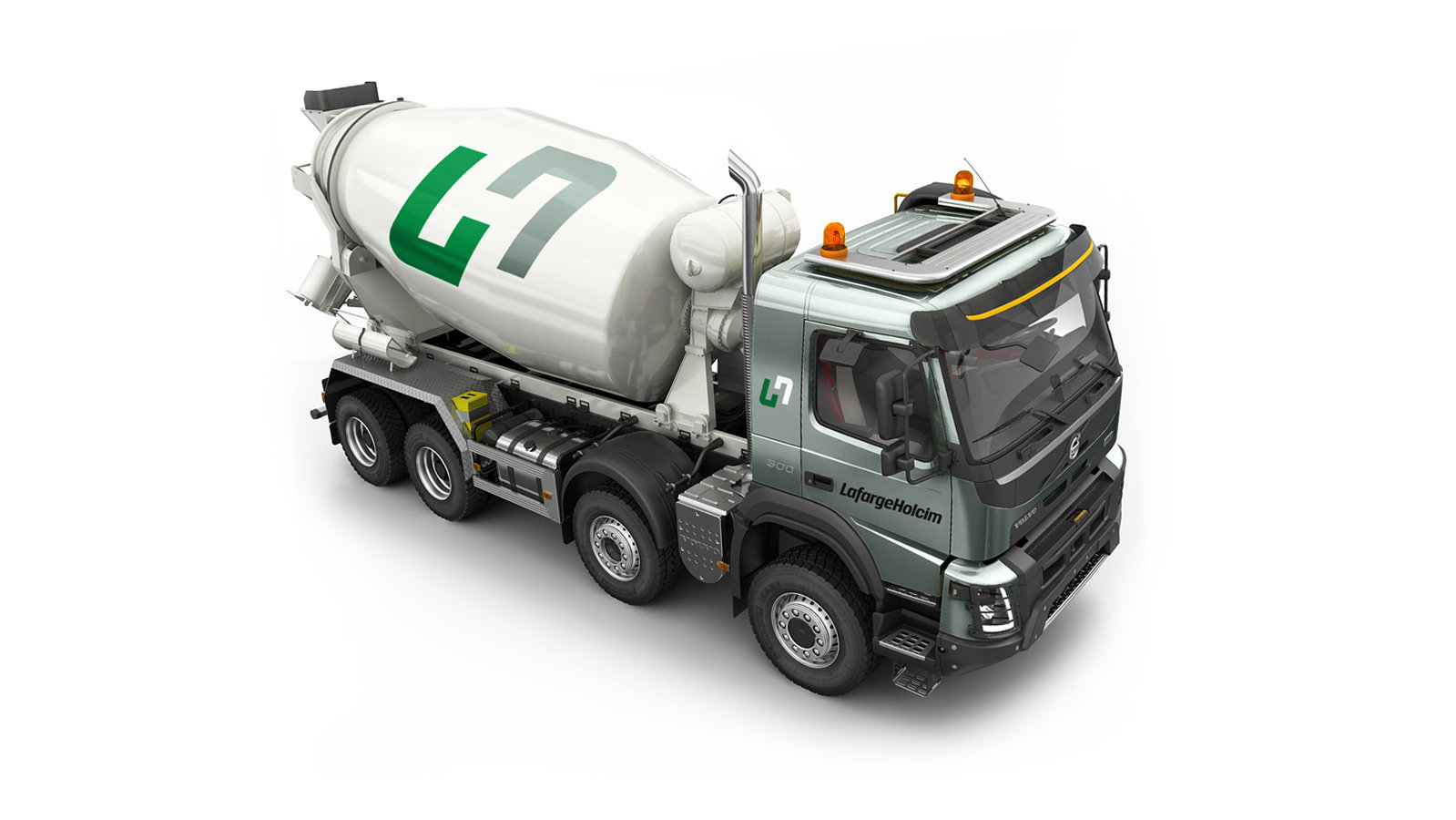 Roberge_LafargeHolcim Cement Mix Truck T
