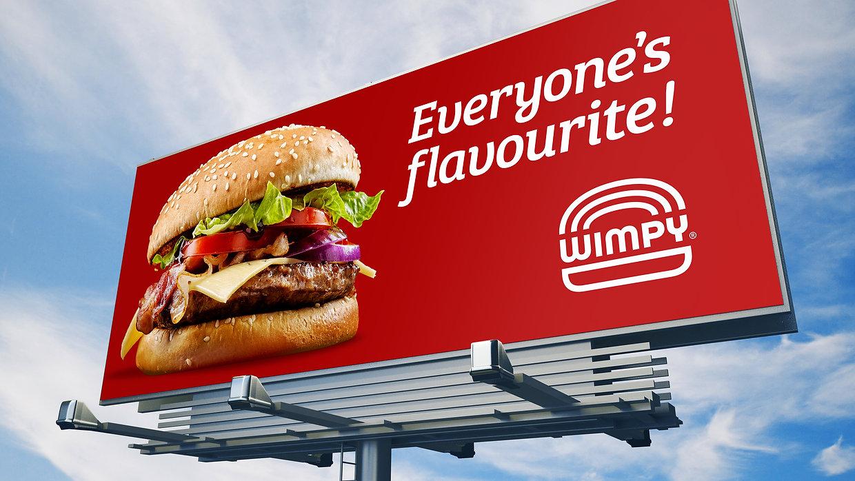 Wimpy Restaurant Billboard