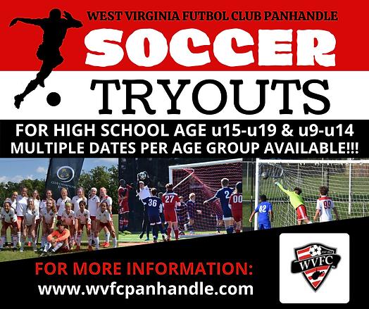 WVFC-Nov 2021-Soccer Tryouts
