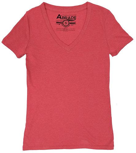 Women's T-Shirt V-Neck Plain