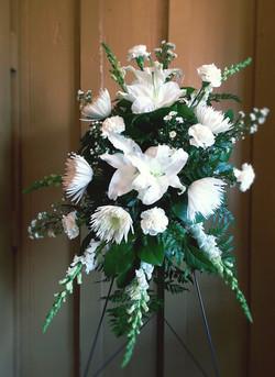 Memorial Piece in white