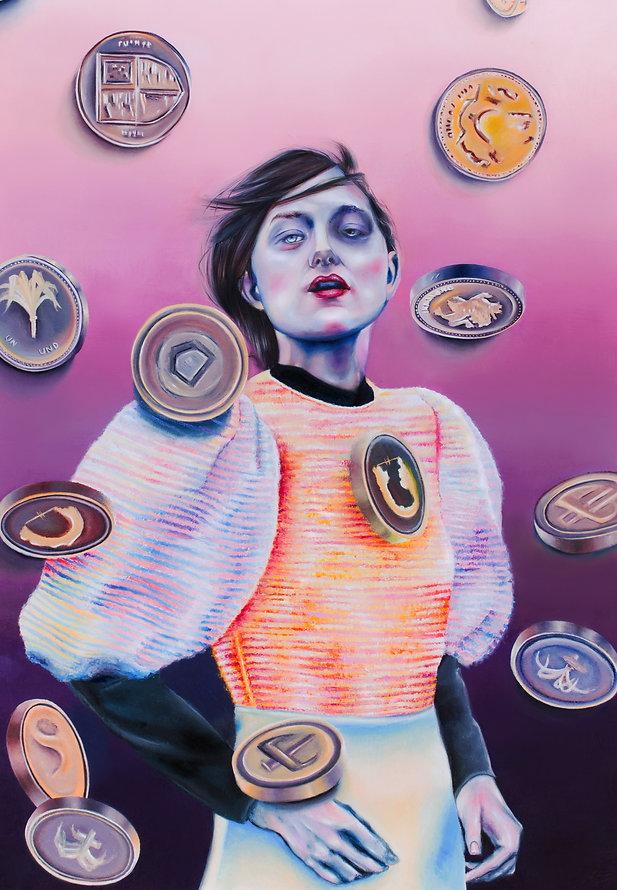 Giada Issue 3 Money Money_oil on canvas