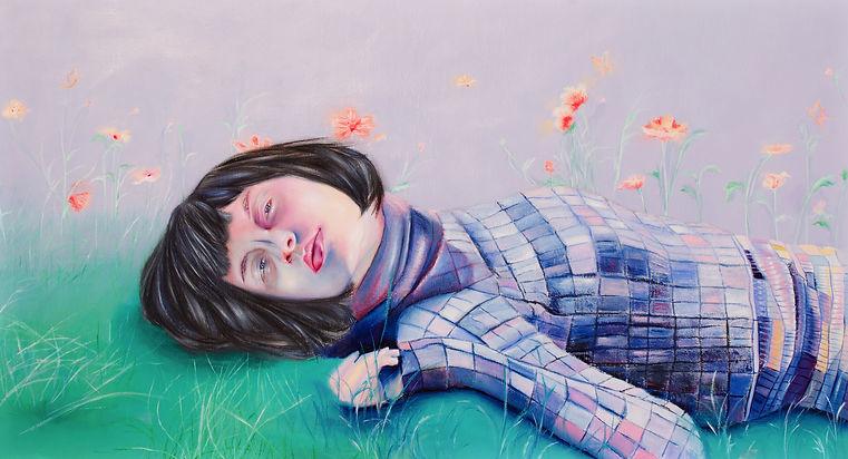 Giada Issue 3 Art Linda in the garden_oi
