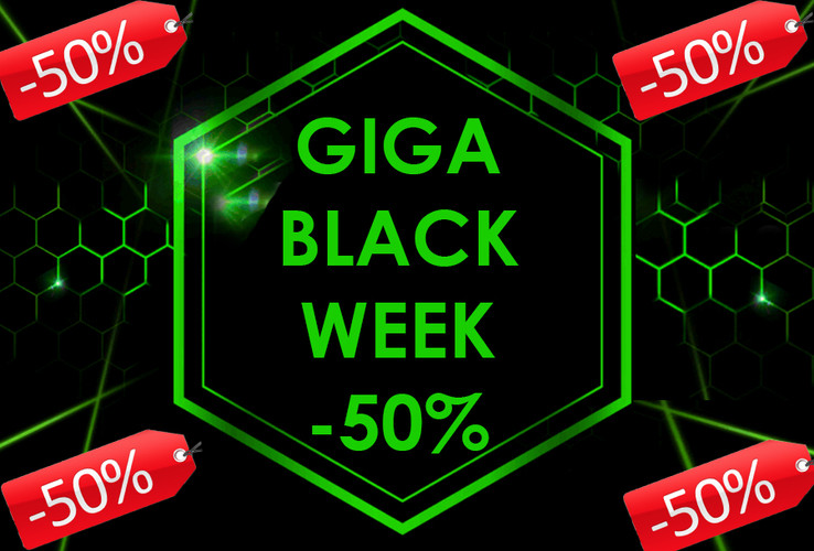 GIGA Black Week 2020