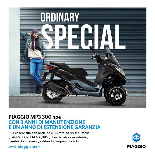 MP3 300 hpe