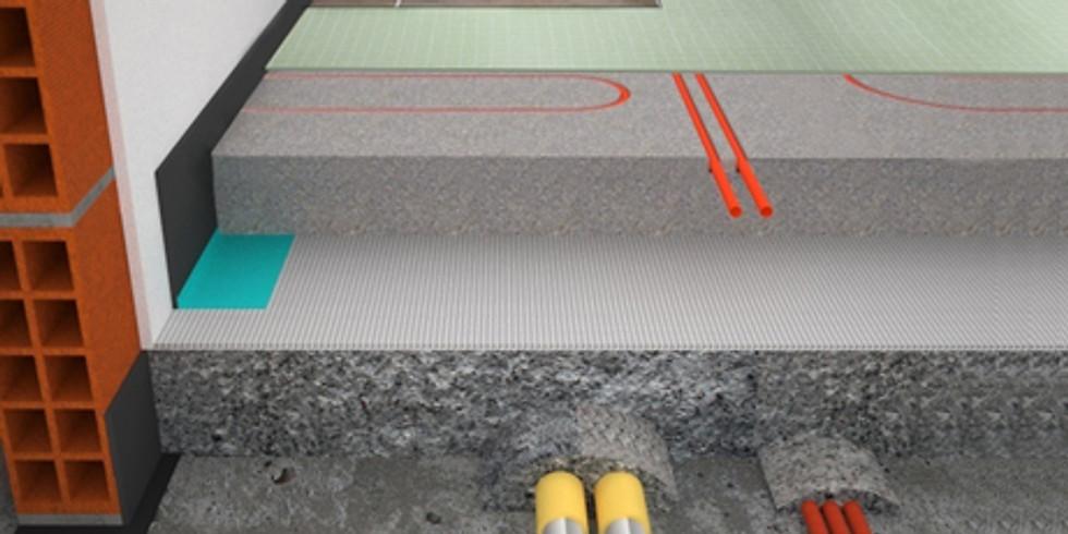 Carpiano (MI) - La progettazione sottile: impianti radianti, isolamento acustico e massetto a basso spessore