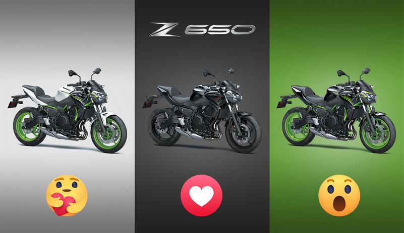 Z650... reactions