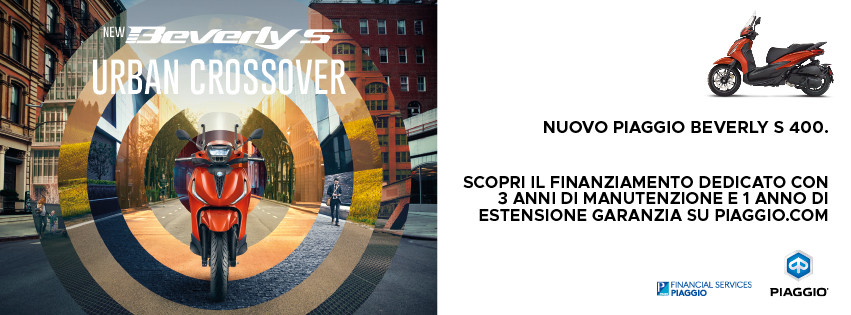 Nuovo Beverly S 400