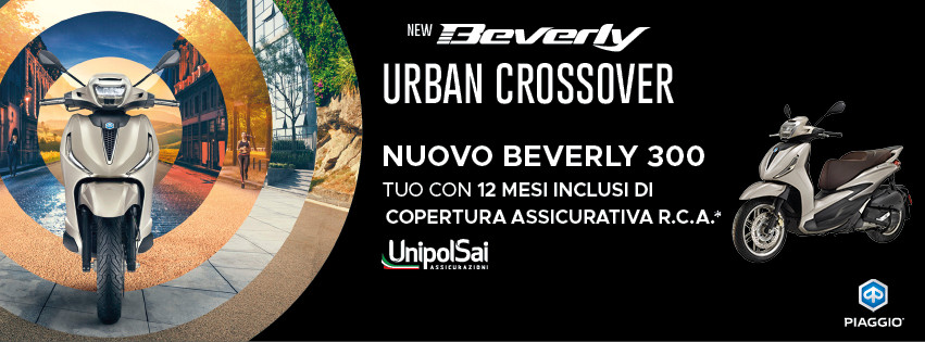 Nuovo Beverly 300