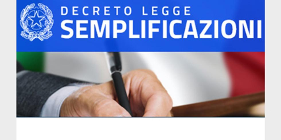 IL DL SEMPLIFICAZIONI: effetti in ambito Contratti Pubblici e Affidamenti Diretti