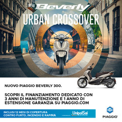 Beverly 300 Unipolsai