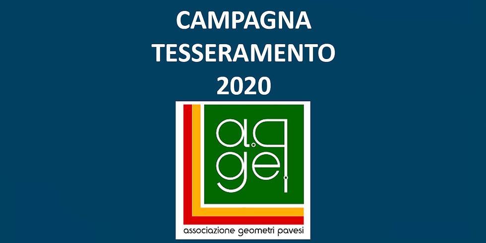 Tesseramento A.Ge.P. Associazione Geometri Pavesi 2020