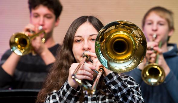 Echte Trompeter